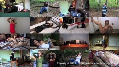 Compilation: Beauties in Bondage Compilation 17 (MP4)