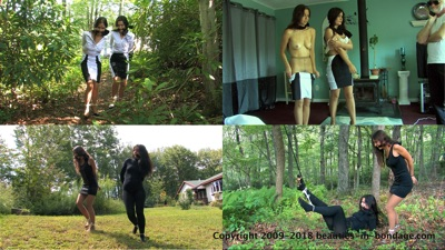 Cali Logan & Tilly McReese: Bound For Slavery Remastered (MP4)