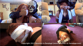 Bound, Gagged, Blindfolded & Robbed