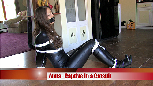 Captive in a Catsuit