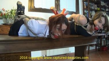 Selina & Layla: Punished Shopgirls
