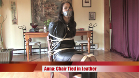 Chair Tied in Leather