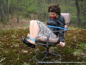 Chair Tied in the Garden