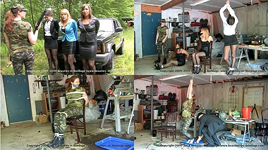 Lily, Amber, Jasmine & Shauna: Colombian Ambush & Colombian Interrogation together
