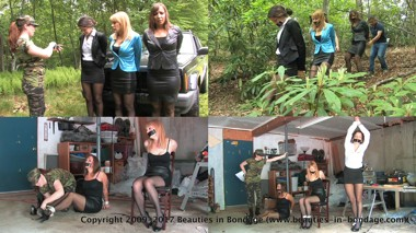 Amber Wells, Lily Anna, Jasmine St. James & Shauna Ryanne: Colombian Ambush (enhanced)