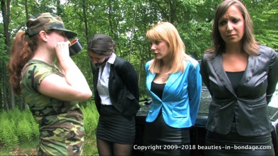 Amber Wells, Lily Anna, Shauna Ryanne & Jasmine St James: Colombian Ambush Remastered (MP4)