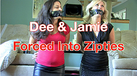 Jamie & Dee: Forced Into Zipties