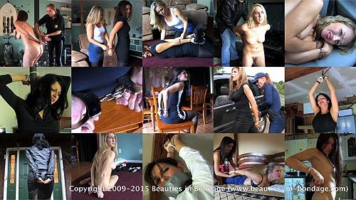 15 models: Girls in Handcuffs 4