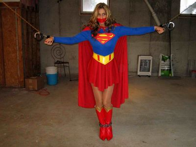 Grounded Supergirl