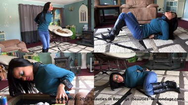 Monica Jade: In The Mood To Be Restrained