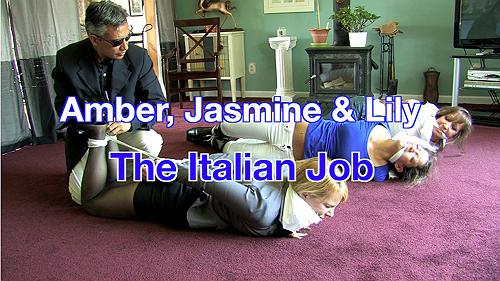 Amber, Jasmine & Lily: The Italian Job