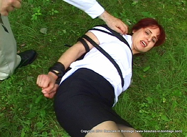 Paralegal Dragged, Bound & Rolled