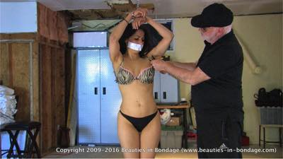 Hannah: Restrained & Stripped