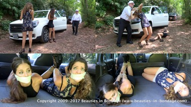Cali Logan & Jasmine St James: Roadside Grab