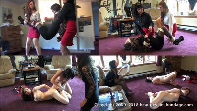 Candle Boxxx, Dixie Comet & Jasmine St James: Shop Girls Remastered (MP4)