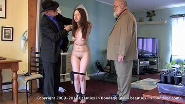 Tara: Stripped & Tied With Pantyhose