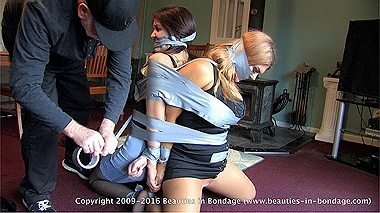 Carissa & Jasmine: Tightly Taped