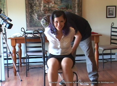 Watch Beverly Being Tied Up