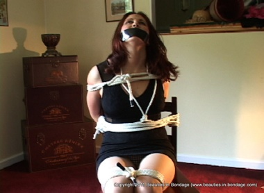 Watch Shauna Being Tied Up