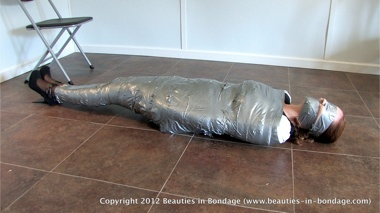 Watch Shauna Being Wrapped in Duct Tape