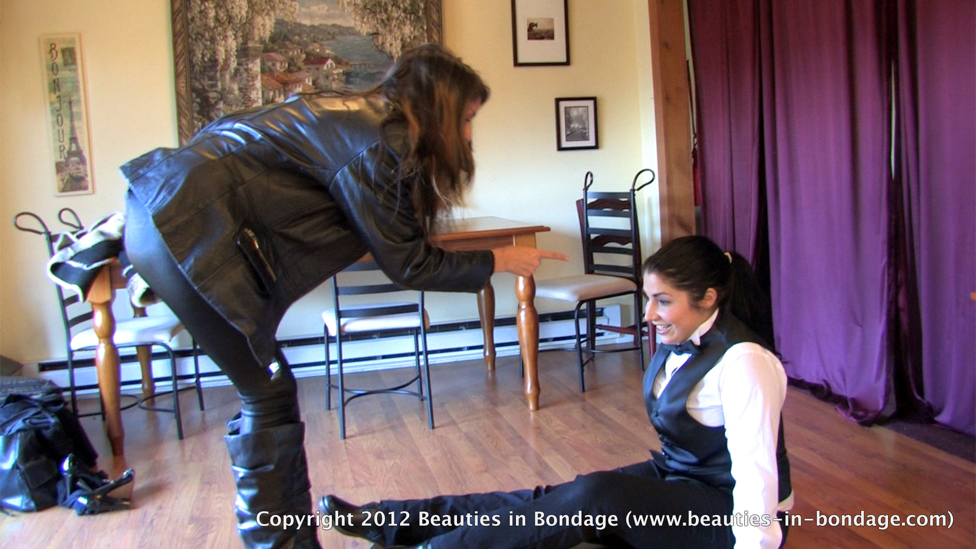 Aleksa In Missing Action Dominated Girls