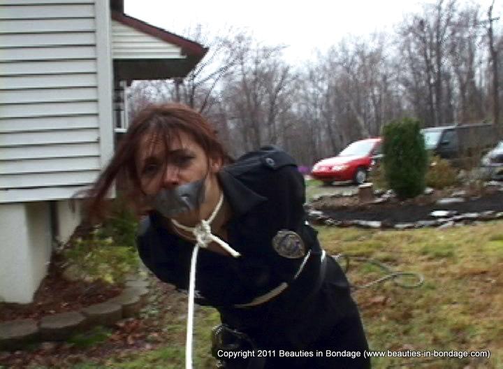 Cop bondage female