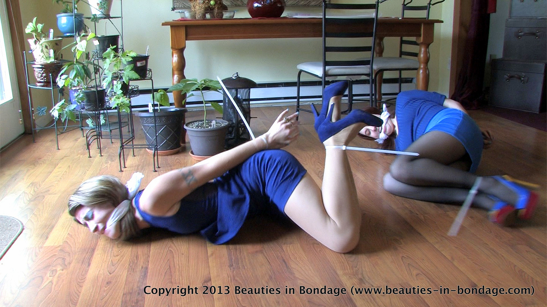 Turns! damsel attempt to escape bondage remarkable, amusing