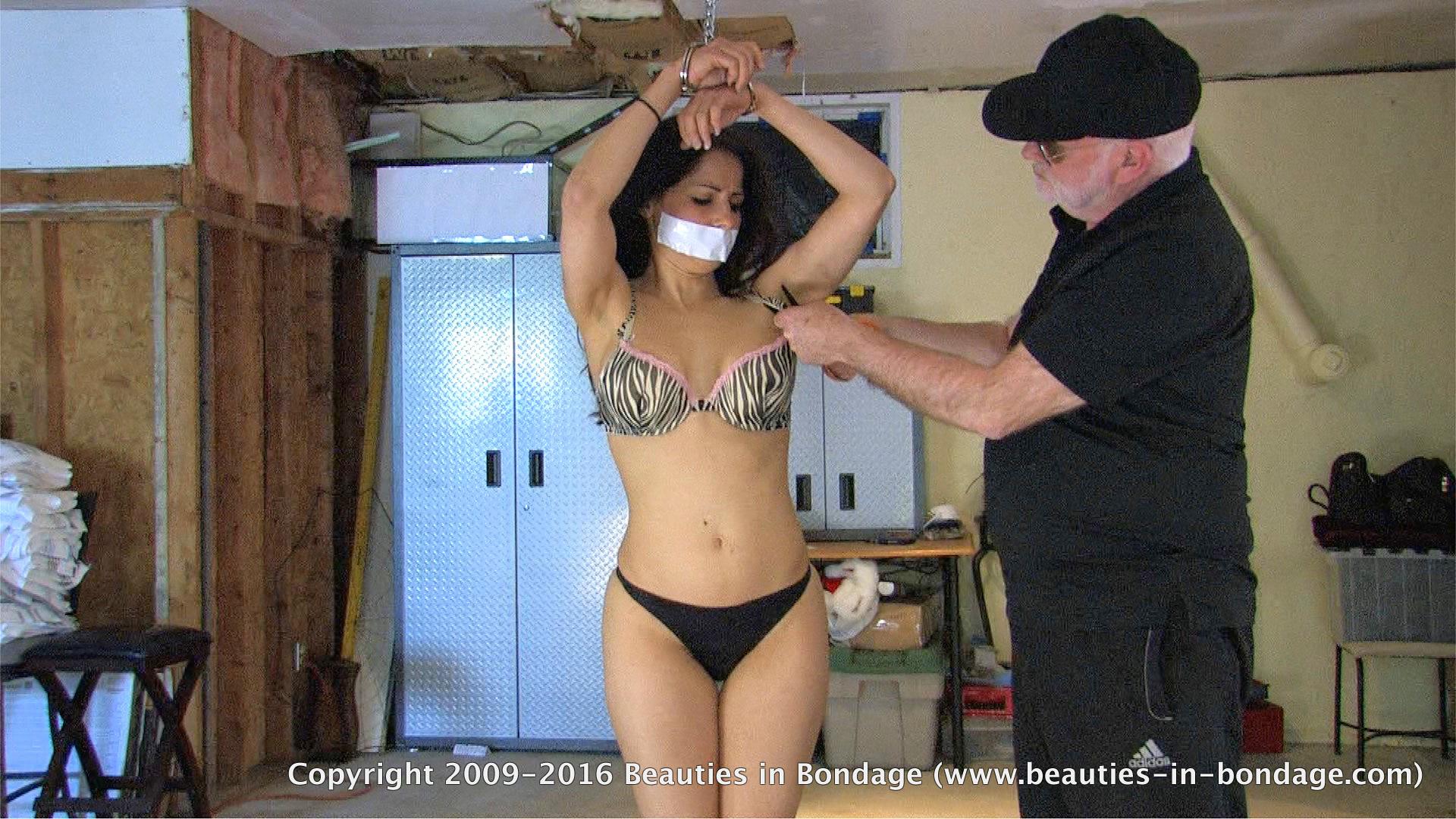 naked beauties in bondage