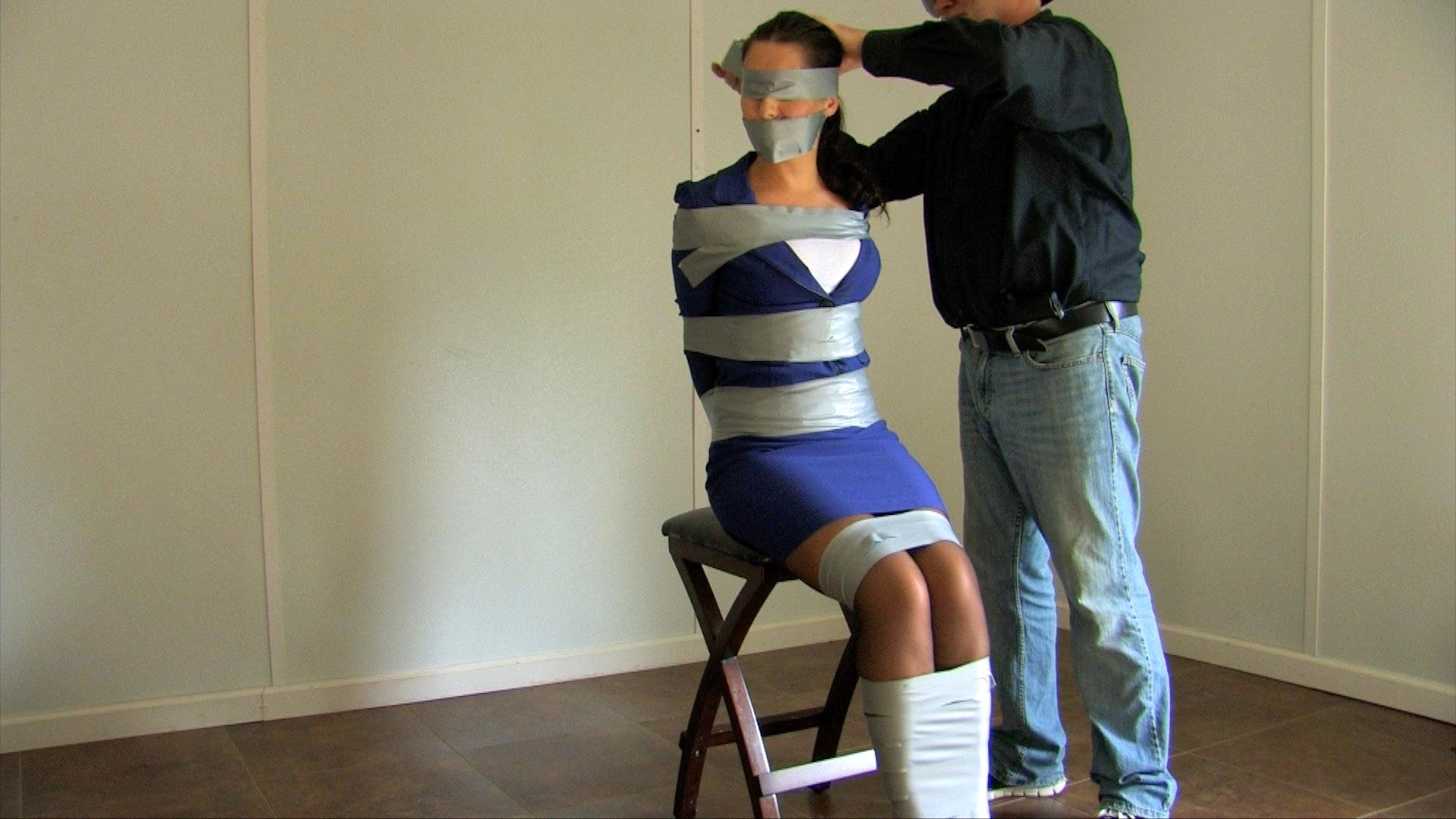 Bondage restrained elegance tillie model